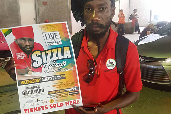 ​Fans eagerly prepare as Sizzla embarks on his first US Tour after 8 years
