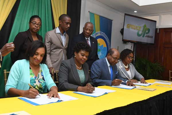 TPDCo Signs Agreement with Edna Manley College to Establish Craft Development Institute