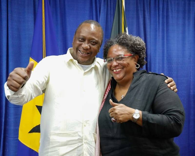 Official-visit-of-Keynatta-in-Barbados